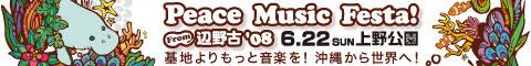 ピースミュージックフェスタfrom辺野古'08 in上野